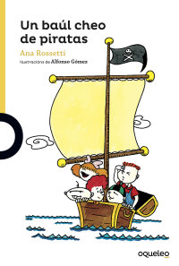 Portada Un baúl cheo de piratas